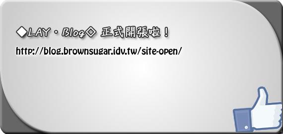 ◆LAY‧Blog◇ 正式開張啦!