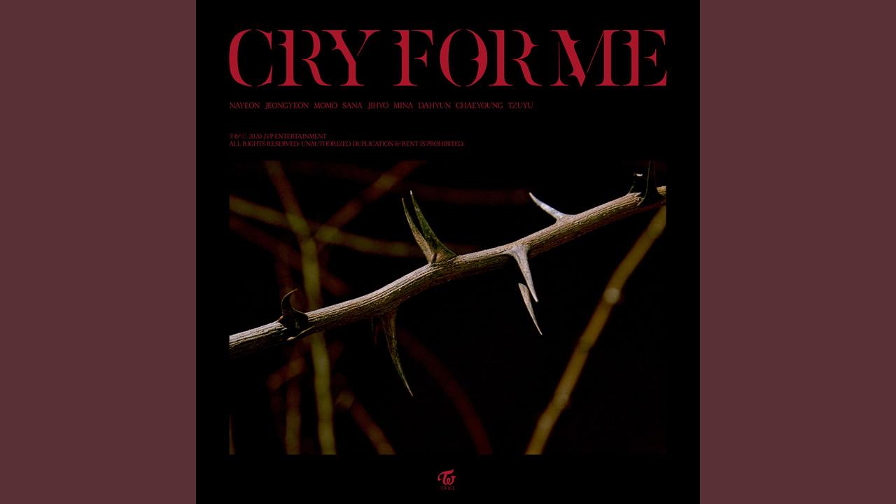TWICE - CRY FOR ME 繁中認聲歌詞 [中韓對照]
